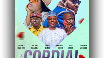 CORDIAL TEN showing now, latest yoruba movie