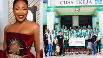 BBNaija-Erica-27th-birthday-Fans-donates-N891000-to-reality-stars-alma-mater